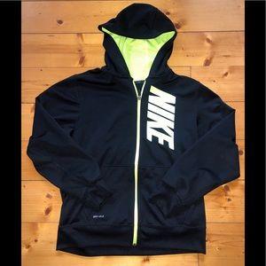 Boys Nike full zip hoodie